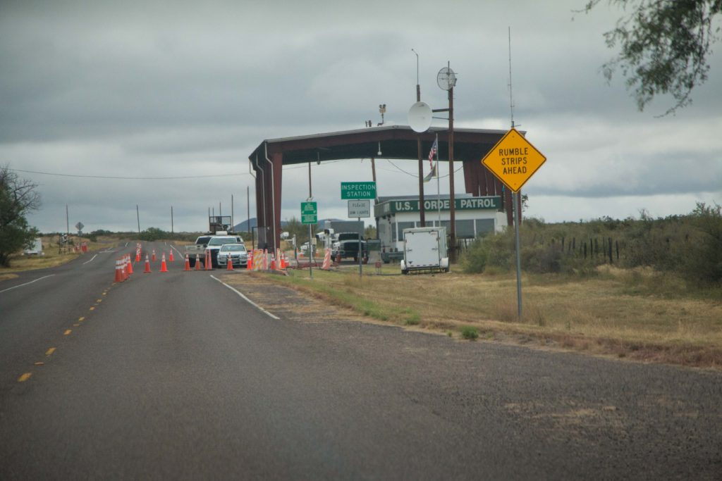 driving in texas border patrol