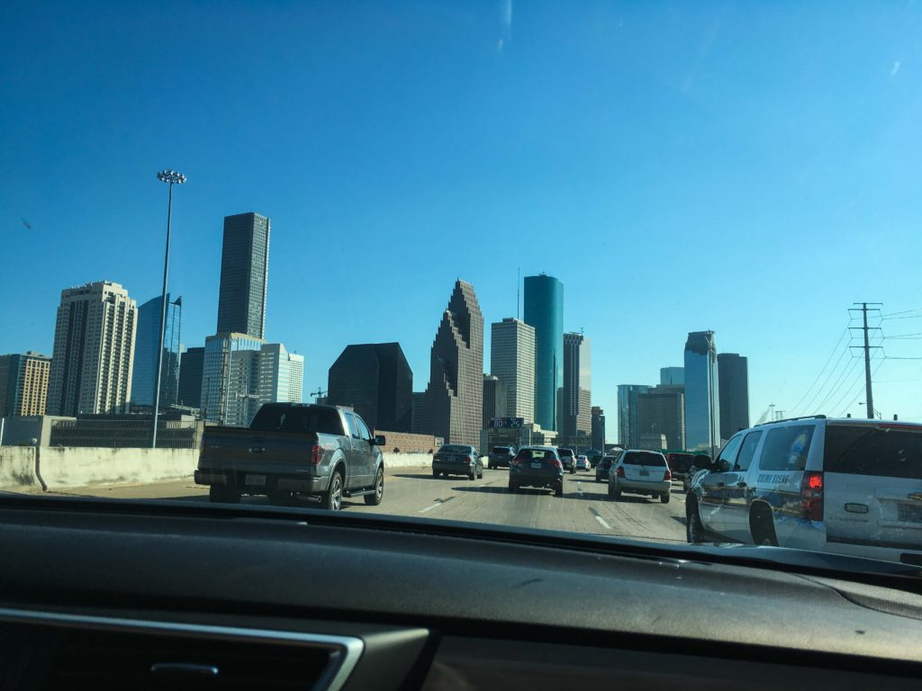 driving in texas houston