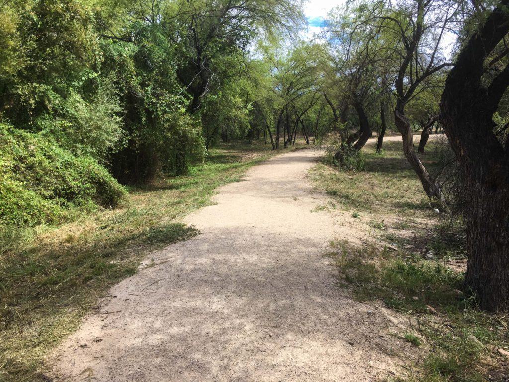 The path to the Rio Grande