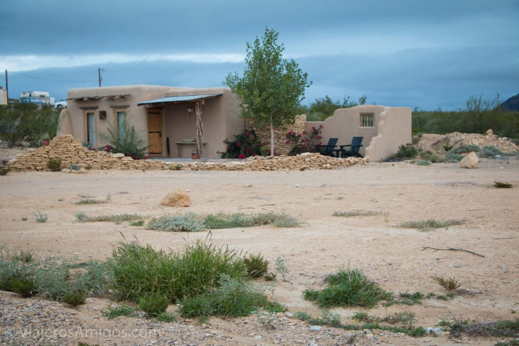 an adobe home in terlingua texas