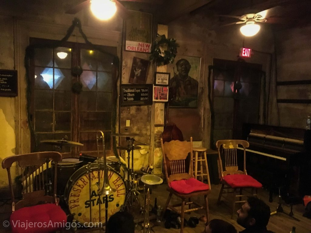 preservation hall new orleans interior