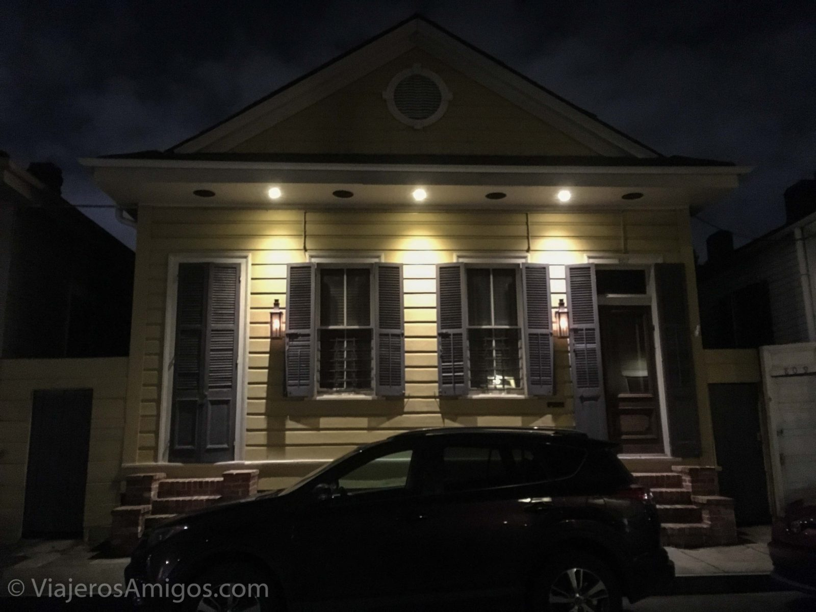 new orleans favorite shotgun house