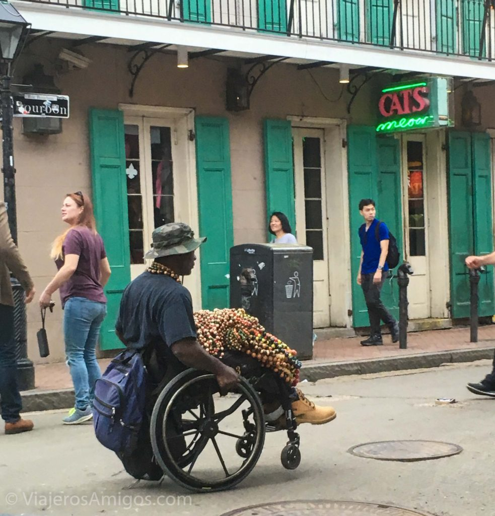 didn't like about new orleans opportunism