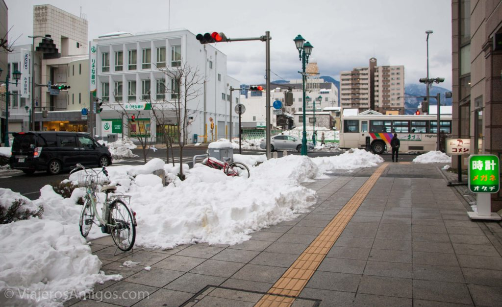 the streets of in matsumoto city